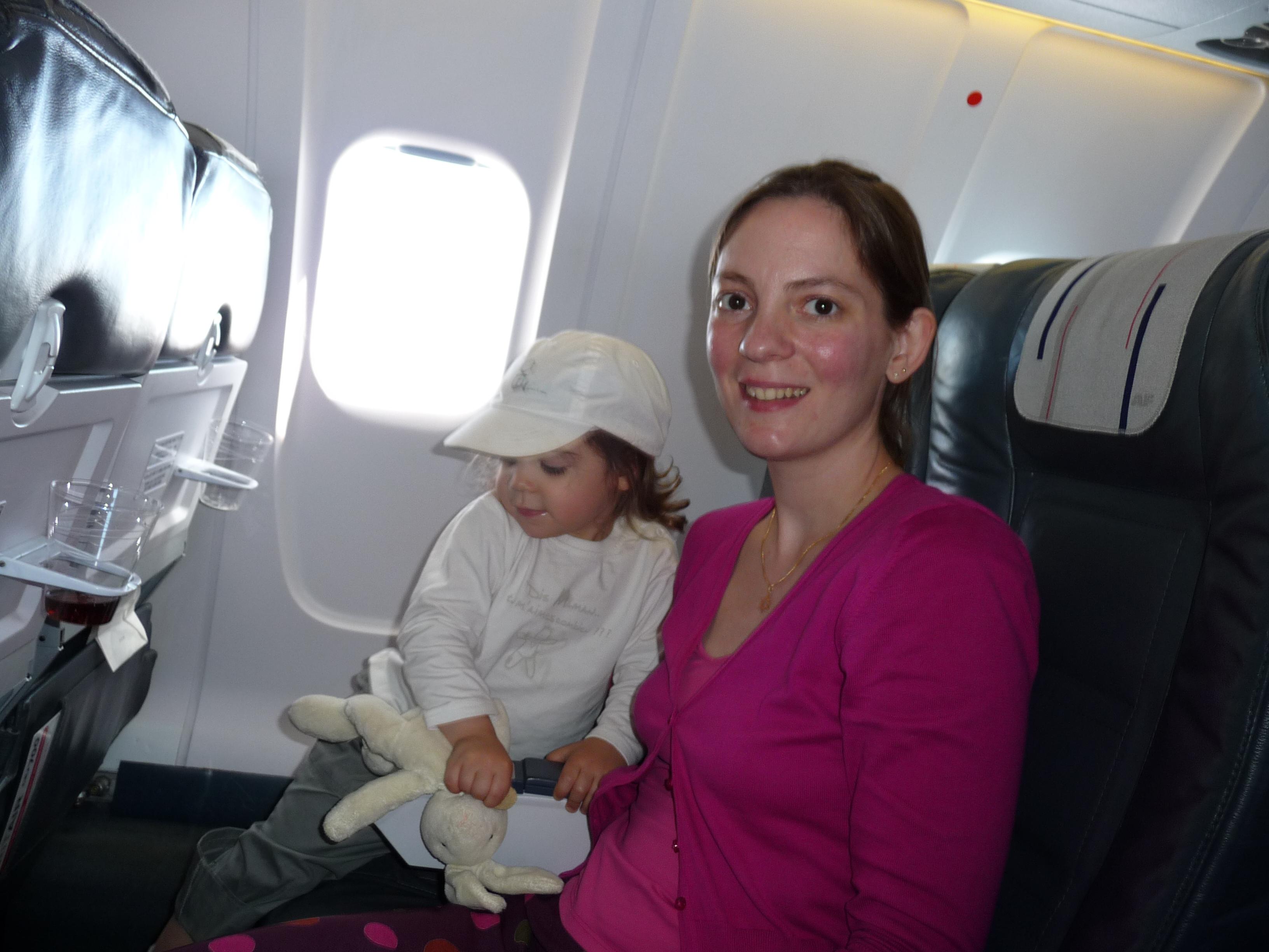 Titout et Chachou dans l'avion!